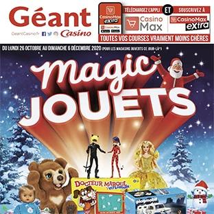 Catalogue jouets Géant Casino Noël 2020 en ligne