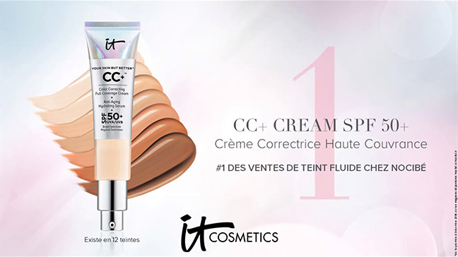 dose d'essai de Your Skin But Better CC+ Cream SPF 50+ d'It Cosmetics
