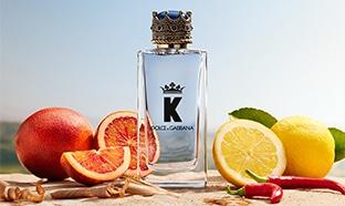 Échantillons gratuits du parfum K by Dolce & Gabbana