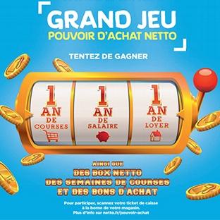 Jeu Netto en magasin et sur www.jeu-netto-pouvoir-achat.fr