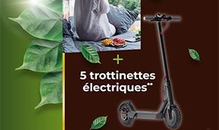 Jeu Cafes-Legal.fr : 5 week-ends et 5 trottinettes à gagner