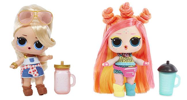 poupées LOL Hairgoals moins chères