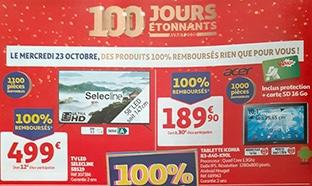 Bon plan Auchan 100% remboursé = 4 produits offerts