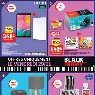 Auchan 100% remboursé = 7 produits offerts (Nintendo 2DSXL…)