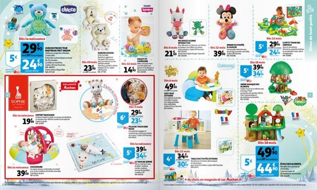 Prospectus des jouets de Noël 2020 des magasins Auchan
