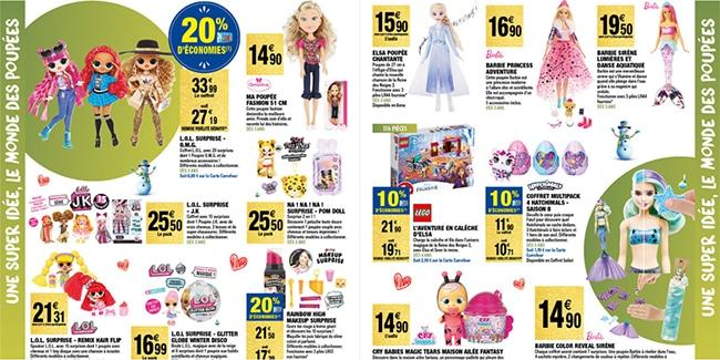 Prospectus Noël 2020 des magasins Carrefour Market