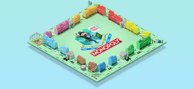 Plateau du jeu Monopoly Mcdo