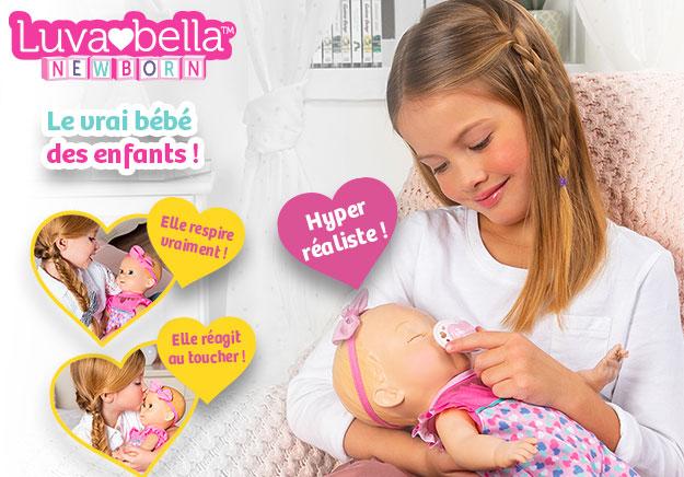 testez la poupée Luvabella et donnez votre avis