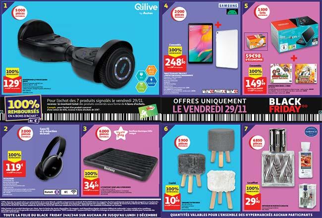 Offre de remboursement Auchan lors des 100 jours étonnants