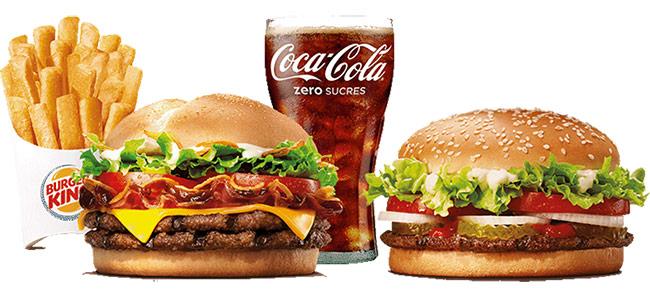 burger supplémentaire à 1€ seulement