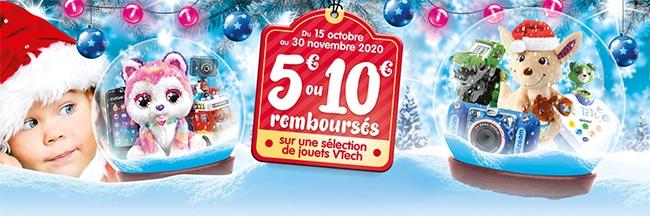 Offre de remboursement de Noël de VTech