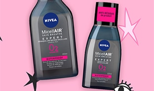 Test Nivea : 90 produits démaquillants MicellAIR Expert gratuits