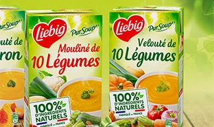 Test TRND : 250 packs gratuits de soupes Liebig PurSoup'