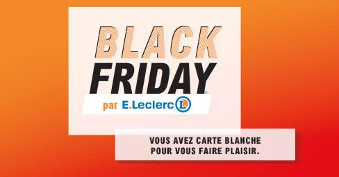 Catalogue Leclerc Black Friday 2019 7 Jours De Remises