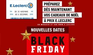 Catalogue Leclerc Black Friday 2020 : 7 jours de remises