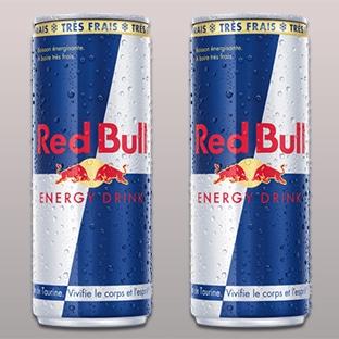 Canettes de Red Bull gratuites (échantillons)