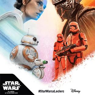 Star Wars / Leclerc : Album collector et stickers à collectionner
