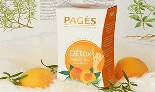 Échantillons gratuits d'infusion Détox Romarin Frêne de Pagès
