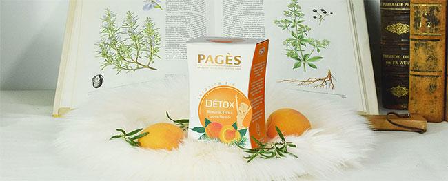 Recevez gratuitement un sachet d'infusion Détox Romarin Frêne de Pagès