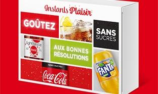 Instants Plaisir Box dégustation : coffret Coca-Cola