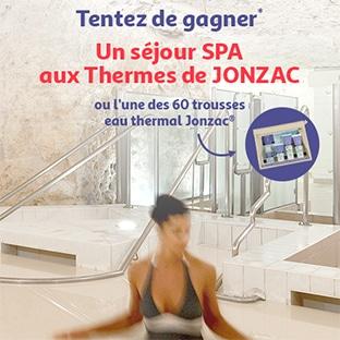 Jeu Auchan.fr : 1 séjour SPA et 60 trousses de soins Jonzac