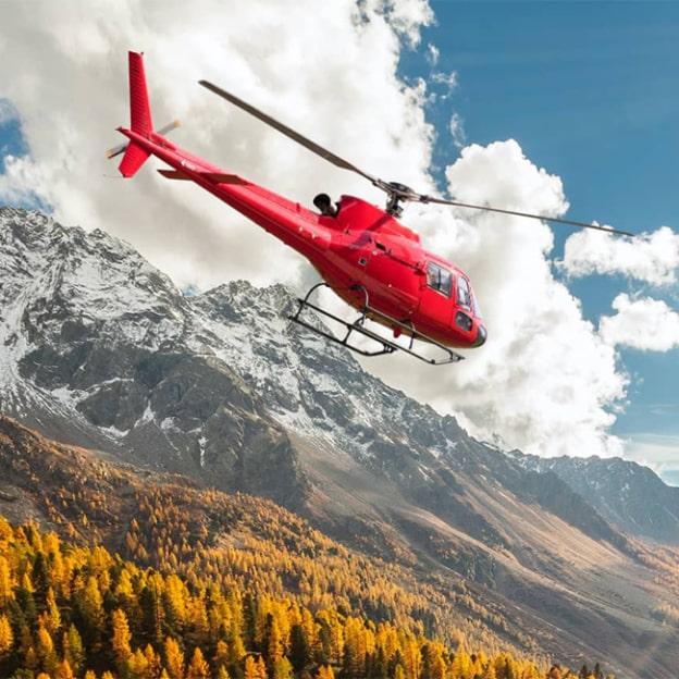 Jeu Charal Vivez Fort : 5 vols en hélicoptère à gagner