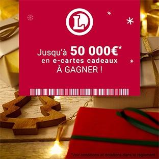 Jeu leclerc-toutcequicompte.fr : 50'000€ de cartes cadeaux à gagner
