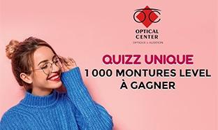 Jeu Optical Center : 1000 paires de lunettes à gagner