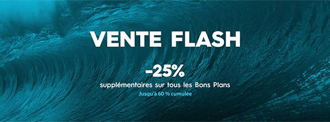 Vente Flash + Bons plans Quiksilver, Roxy et DC Shoes