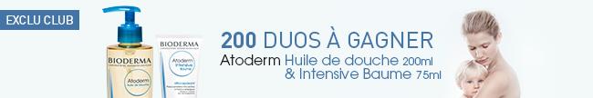 Testez le duo Bioderma Atoderm Intensive Baume et Huile