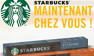 Test Starbucks Nespresso : 7500 barrettes de capsules gratuites