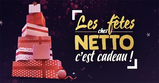 grand jeu Les fêtes chez Netto en magasin et sur Netto.fr