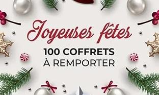 Jeu Envie de Plus : 100 coffrets de Noël à gagner