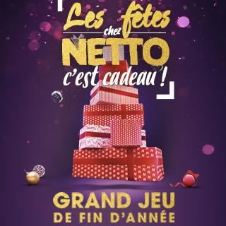 Les fêtes chez Netto : Jeu sur Netto.fr (avec code) et en magasin