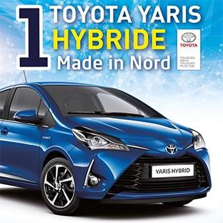 Jeu Saint-Amand.com : Voiture Toyota Yaris Hybride à gagner