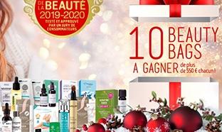 10 Beauty Bags (avec + de 550€ de produits de beauté) à gagner