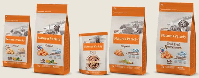 tester gratuitement un pack de croquettesNature's Variety avec TRND