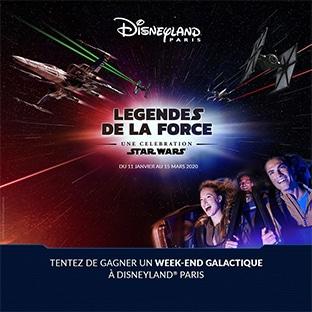 Jeu Star Wars : entrées Disney à gagner