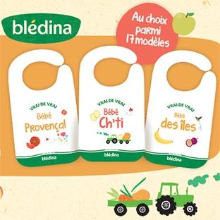 Bon plan Blédina : bavoirs offerts