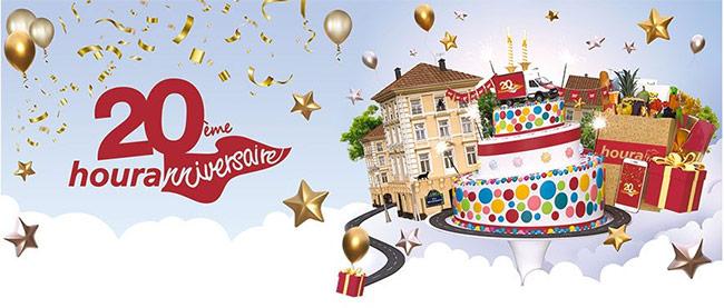 Tentez de gagner de superbes cadeaux avec houra.fr