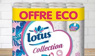 Bon plan Carrefour : Pack de papier toilette Lotus pas cher