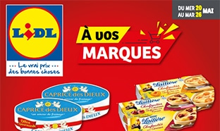 Catalogue Lidl A vos marques mai 2020