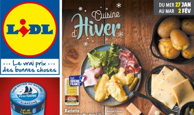 Catalogue Lidl Cuisine d'hiver du 27 janvier au 2 février 2021