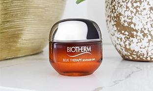 Échantillon gratuit d'un soin anti-âge Blue Therapy de Biotherm