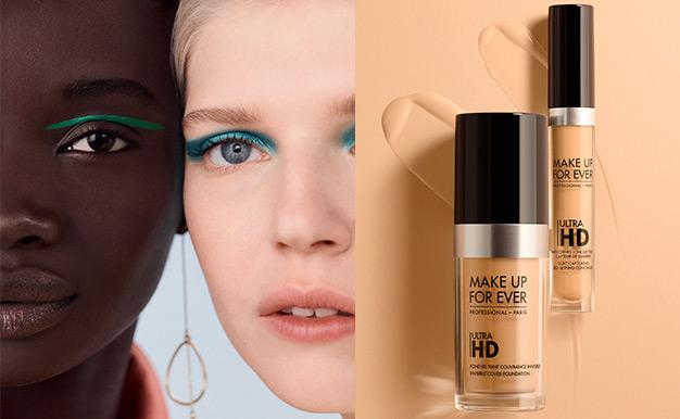 Testez gratuitement les cosmétiques Ultra HD de Make Up For Ever avec Sampleo