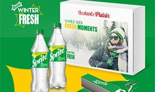 Instants Plaisir Box dégustation Coca Cola : coffret Sprite
