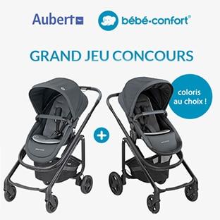 Jeu Aubert : Poussette Lila Bébé Confort à gagner