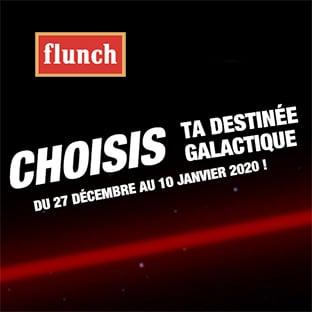 Jeu Star Wars : bon d'achat Flunch à gagner