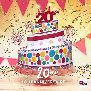 Jeu anniversaire houra.fr : 90'000€ de cadeaux à gagner