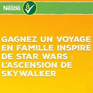 Jeu Nestlé Star Wars : voyage et bols à gagner